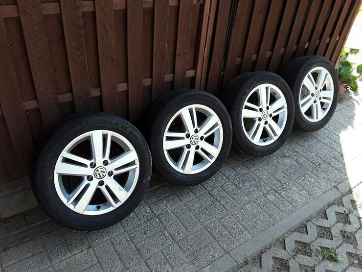 VW Alufelgen Golf 5,6,Touran inkl. Sommerreifen