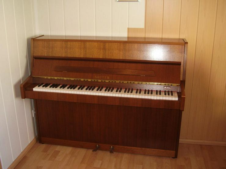 - Deutsches Markenklavier der Firma SAUTER - Klaviere & Pianos - Bild 1
