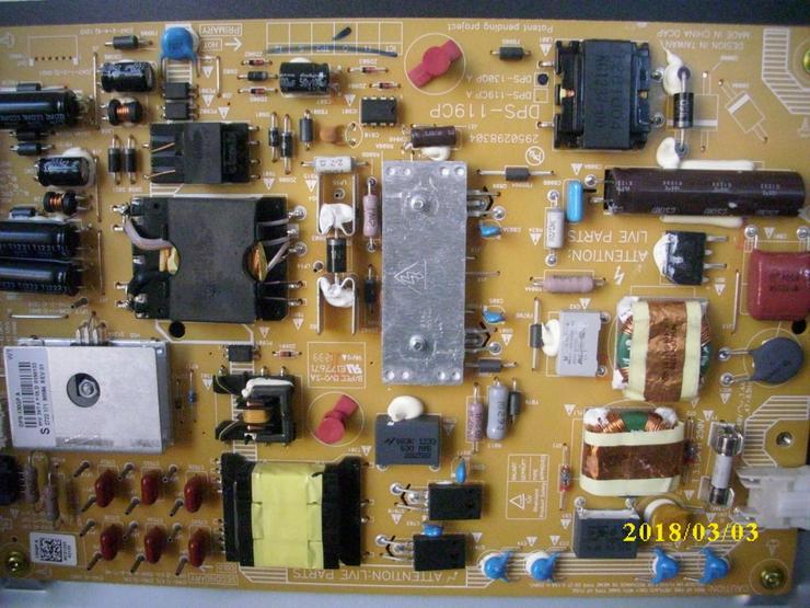 Philips Tv 46PFL5507  Netzteil Reparatur