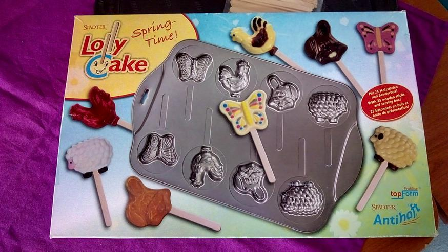Lollypop Cupcake Form
