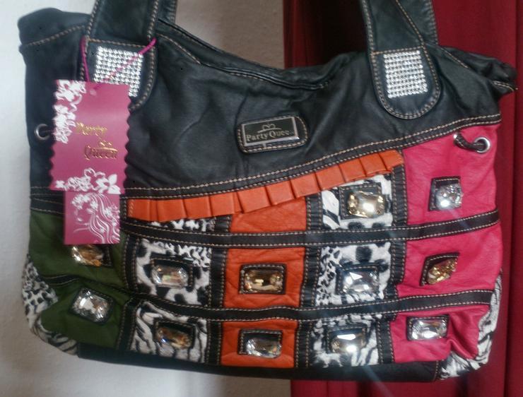 Umhängetasche mit hübschen Applikationen - Taschen & Rucksäcke - Bild 1