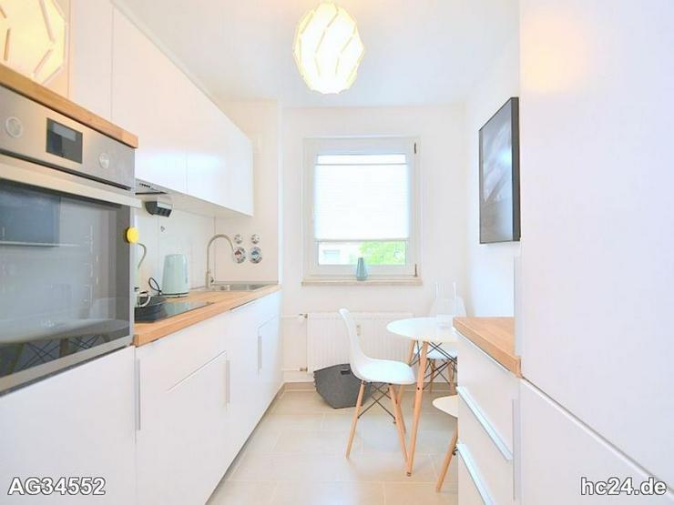 Bild 3: Exklusiv möblierte 2-Zi.-Wohnung mit WLAN und Balkon in Nürnberg/Hummelstein
