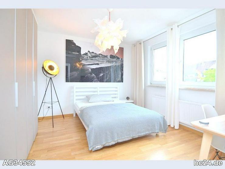 Bild 2: Exklusiv möblierte 2-Zi.-Wohnung mit WLAN und Balkon in Nürnberg/Hummelstein