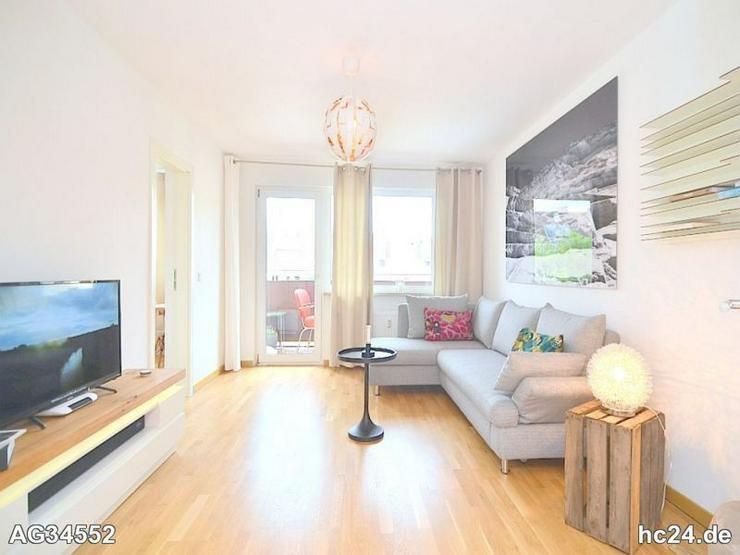 Exklusiv möblierte 2-Zi.-Wohnung mit WLAN und Balkon in Nürnberg/Hummelstein - Wohnen auf Zeit - Bild 1