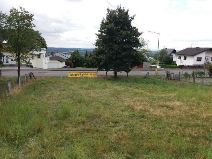 Vollerschlossene Baugrundstück nähe Hachenburg - Bild 1