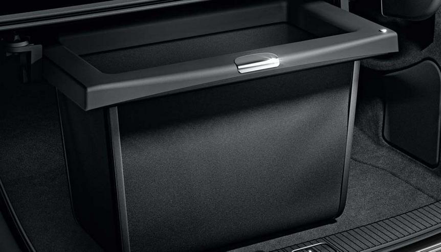 Bild 2: Wenig ben. Mercedes Kofferraumbox
