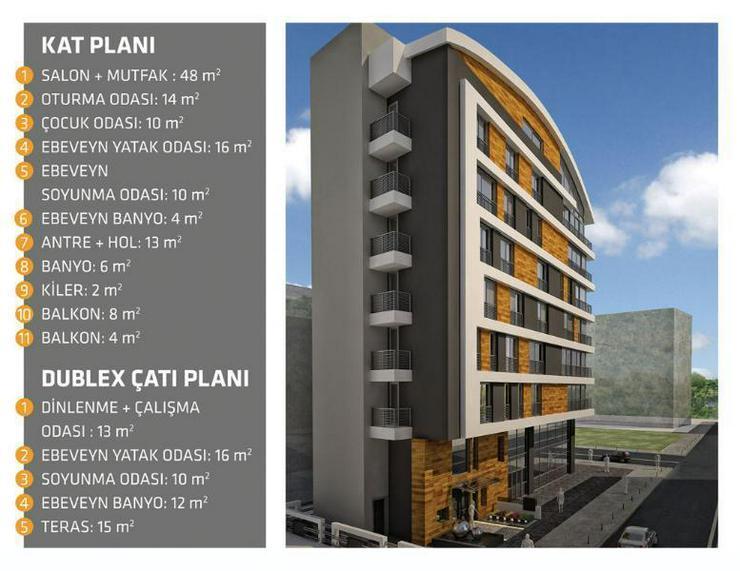 Bild 6: Die letzte Luxuswohnung mit stolzen 180 m2 in Meernähe - zentrale Lage