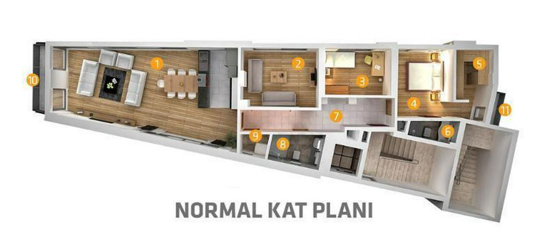 Bild 5: Die letzte Luxuswohnung mit stolzen 180 m2 in Meernähe - zentrale Lage