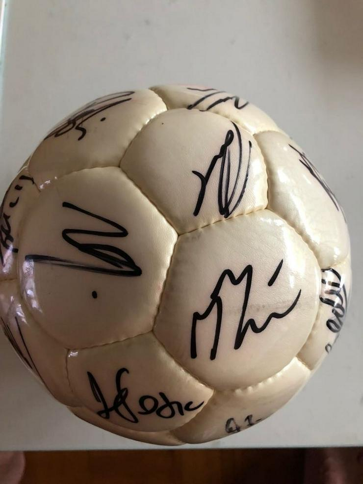 1. FC Köln Ball mit original Unterschriften