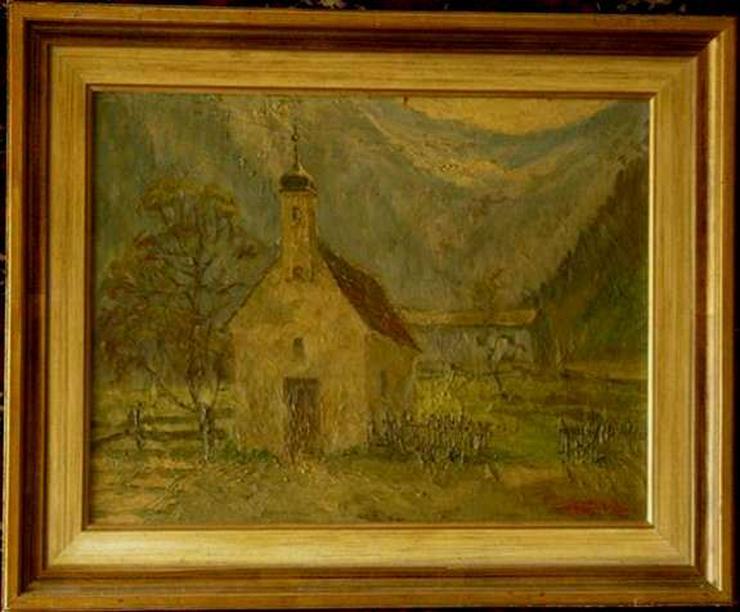 Gemälde Ölgemälde Rudolf Hünerkopf (B016)