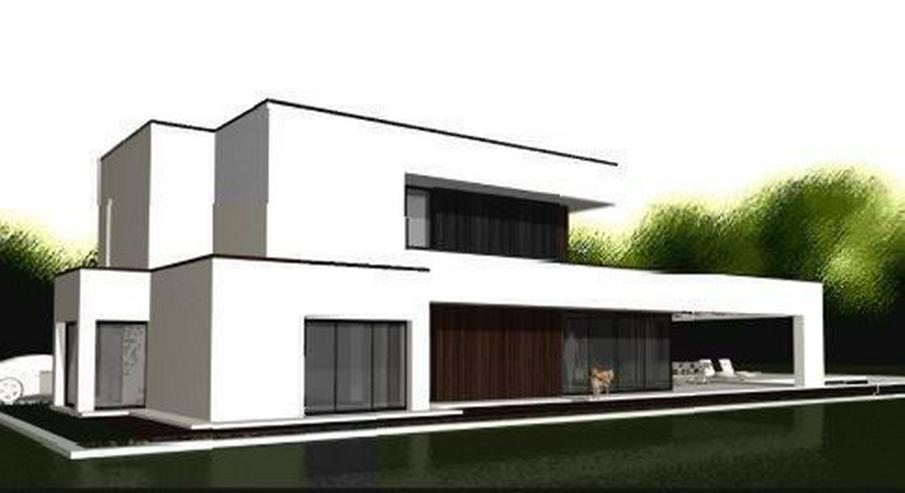 Bild 5: : Baugrundstück in Vallgornera mit Projekt Villa Noura