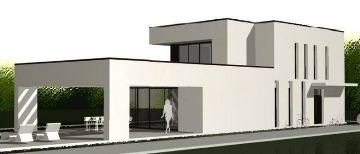 Bild 4: : Baugrundstück in Vallgornera mit Projekt Villa Noura
