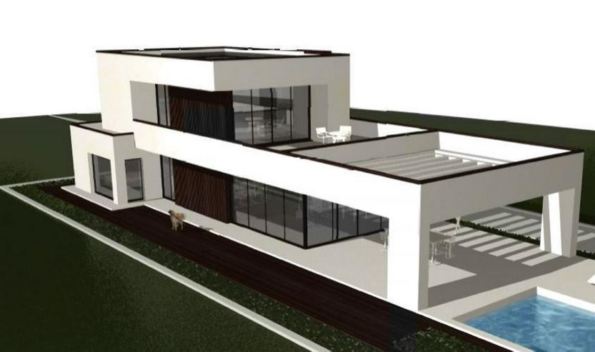 : Baugrundstück in Vallgornera mit Projekt Villa Noura - Grundstück kaufen - Bild 1