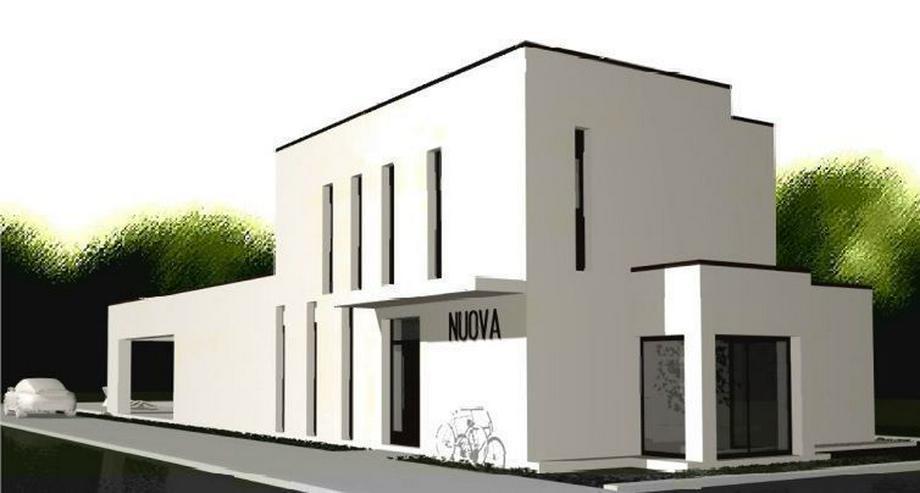 Bild 2: : Baugrundstück in Vallgornera mit Projekt Villa Noura