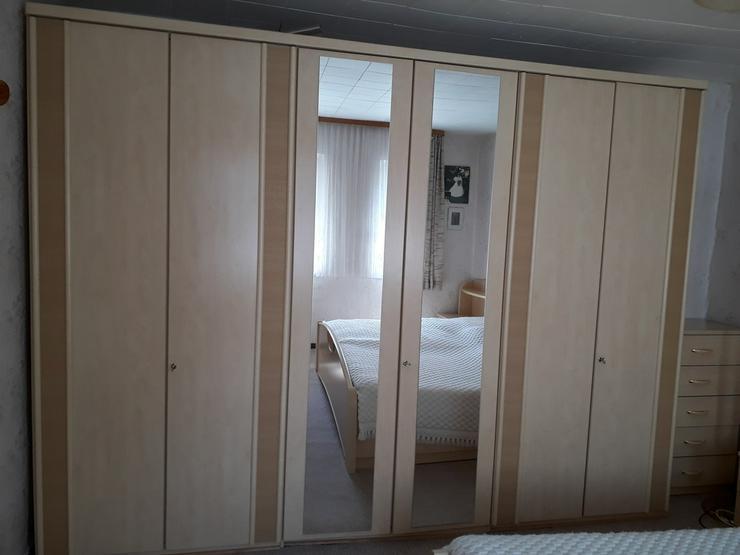 Schlafzimmer Ahorn farben, komplett mit Matrat