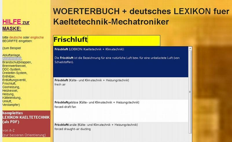 de-englisch Leseprobe Kaeltetechnik-Woerterbuch