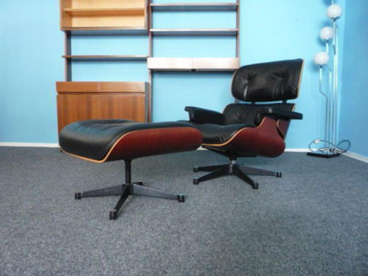 Bild 2: Charles Eames Lounge Leder Kirsche Original