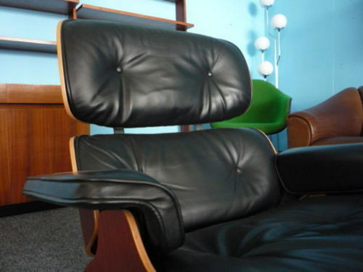 Bild 3: Charles Eames Lounge Leder Kirsche Original