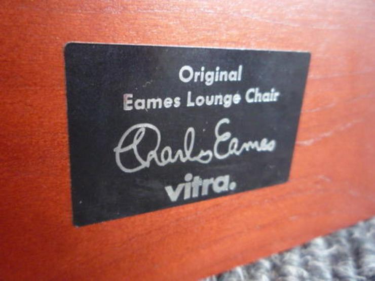 Bild 4: Charles Eames Lounge Leder Kirsche Original