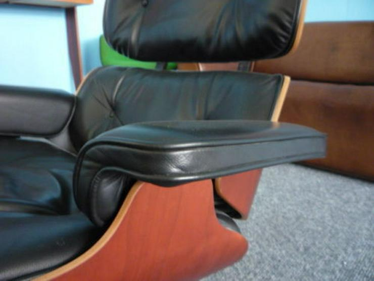 Bild 5: Charles Eames Lounge Leder Kirsche Original