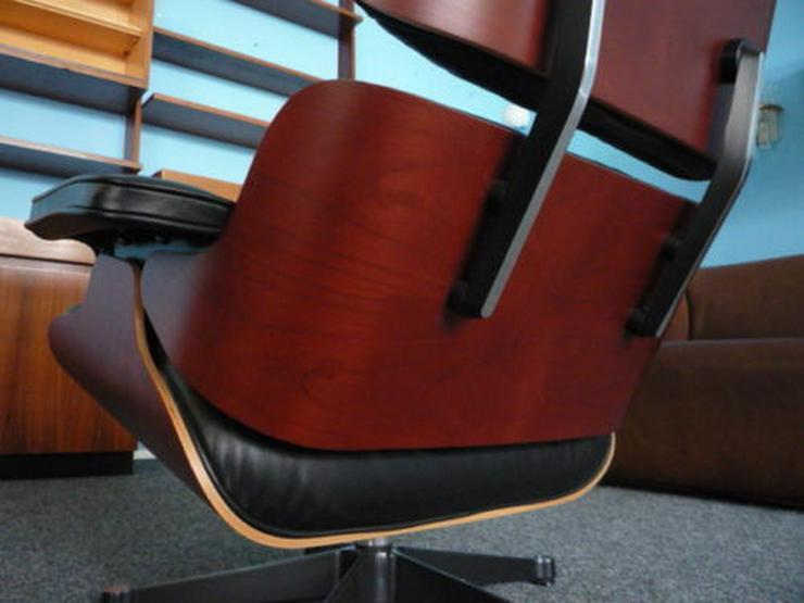 Bild 6: Charles Eames Lounge Leder Kirsche Original
