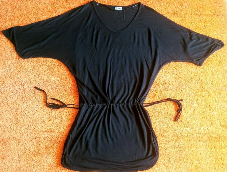 Damen Shirt Schlicht T-Shirt Gr.S in Schwarz