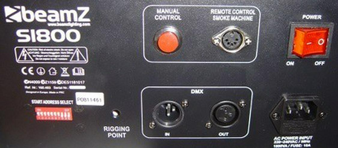 Bild 5: Nebelmaschine S-1800 DMX