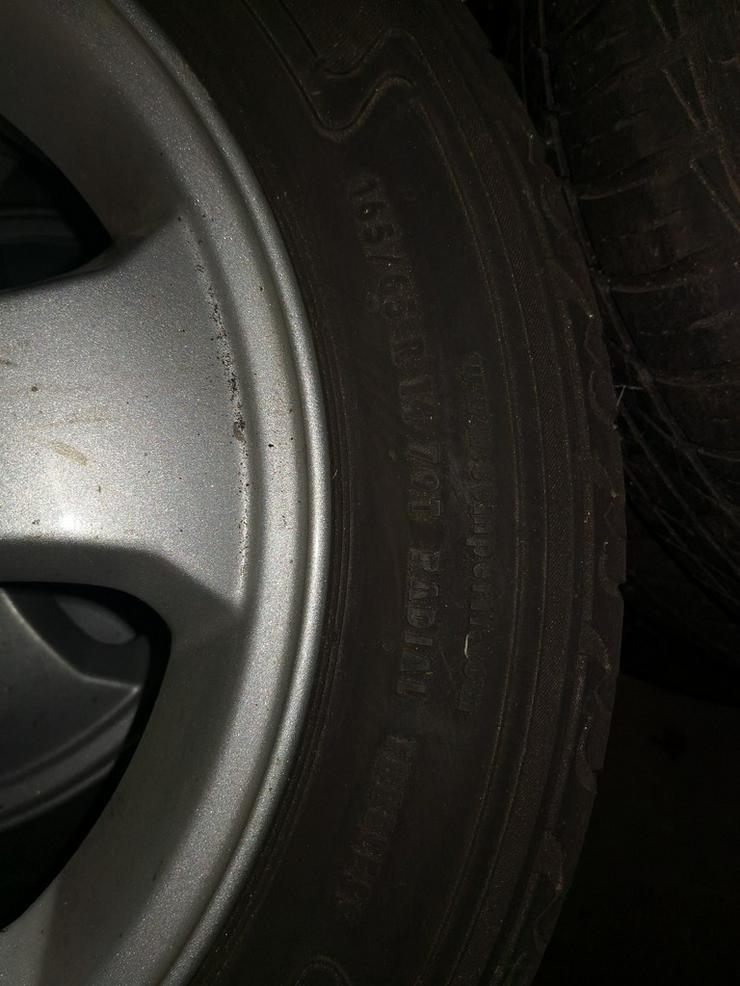 Bild 2: Sommerreifen Opel Corsa B 165 65 R14