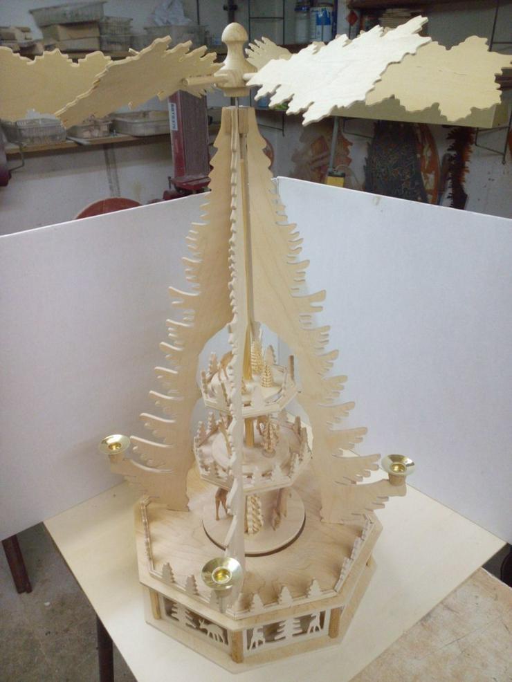 Bausatz Erzgeb. Weihnachtspyramide 3 Etagen