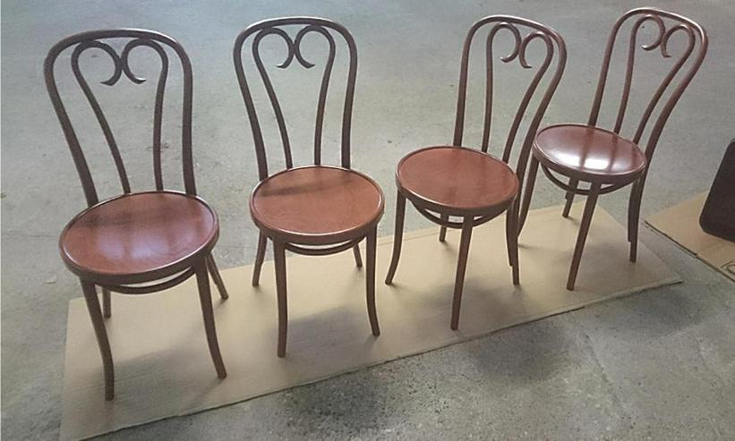 Klassischer Bugholz-Stuhl A-16, B-16