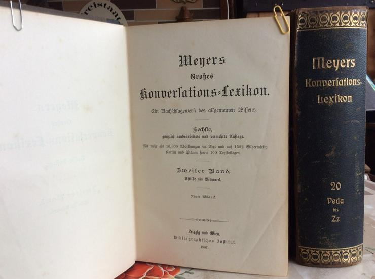Meyers Konversationslexikon von 1907