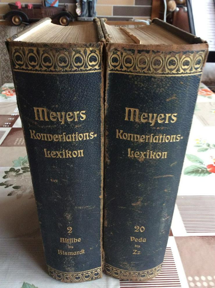 Bild 2: Meyers Konversationslexikon von 1907