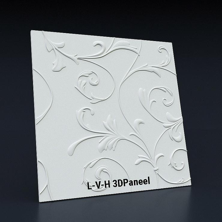3D Platten Wandpaneele, Wandverkleidun aus Gips - Weitere - Bild 1