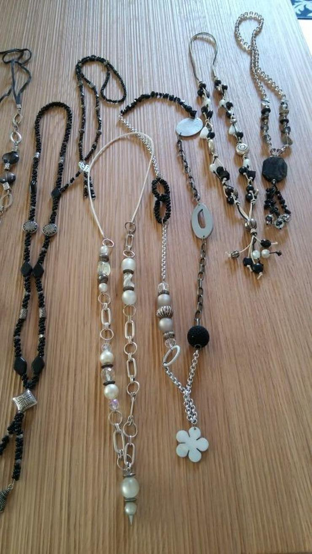 Bild 3: handgefertigte Halskette (n), Unikate