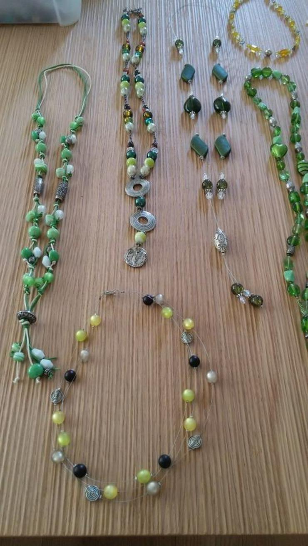 Bild 2: handgefertigte Halskette (n), Unikate