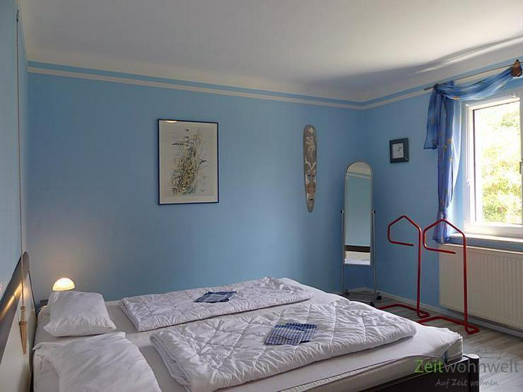 (EF0428_M) Dresden: Gönnsdorf, bunte möblierte 2-Zimmer-Wohnung in ruhiger Seitenstraße... - Bild 1