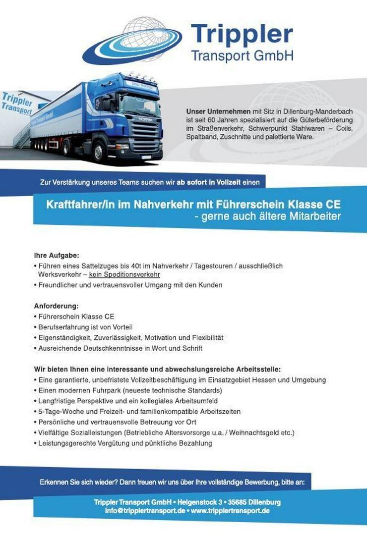 Kraftfahrer/in Nahverkehr - LKW-Fahrer - Bild 1