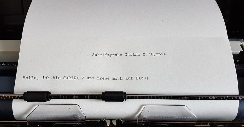 Bild 2: Koffer-Schreibmaschine Olympia Carina 2