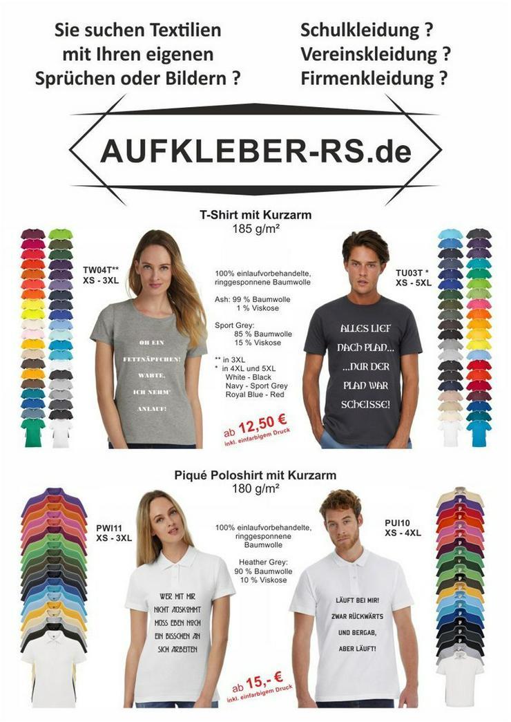 Individueller Textildruck (T-Shirt,Hoodi)