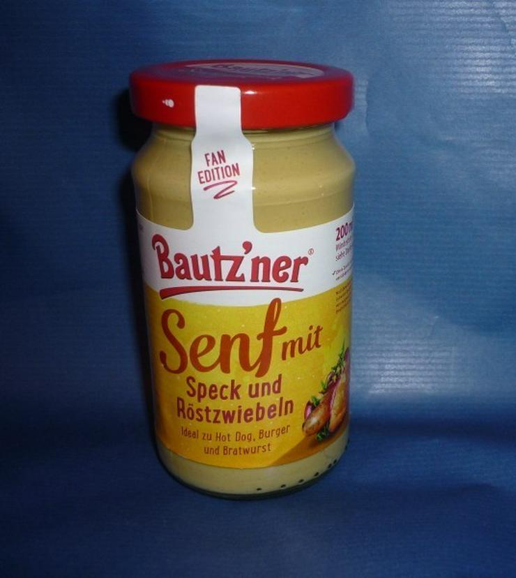 Neu Bautzener Senf mit Speck und Röstzwiebeln l