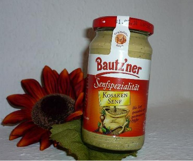 Bild 2: Neu Bautzener Senf mit Speck und Röstzwiebeln l