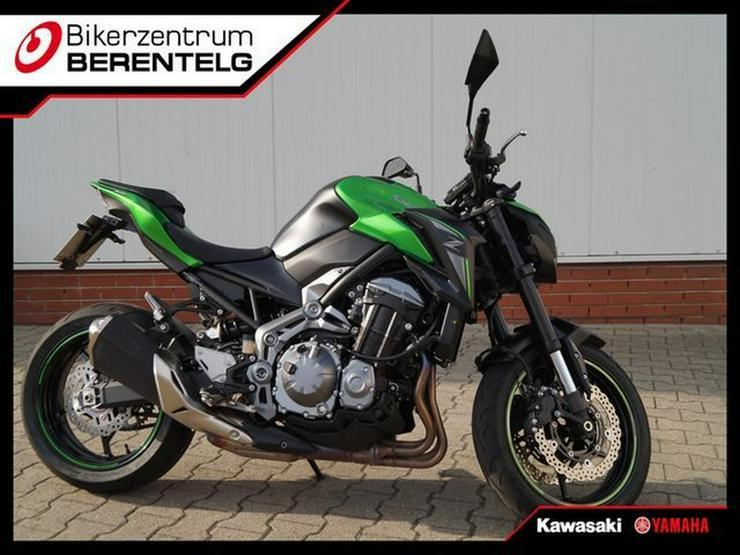 KAWASAKI Z 900 Z900 48 PS Vorführer Kennzeichenhalter Umbau