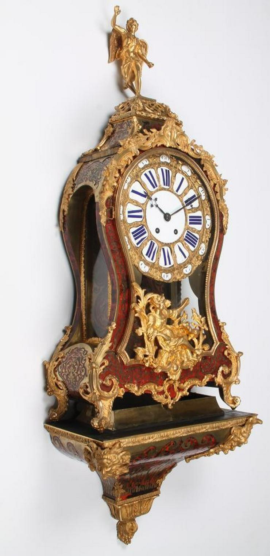 Jahrhundert riesige Boulle Uhr auf Sockel 114