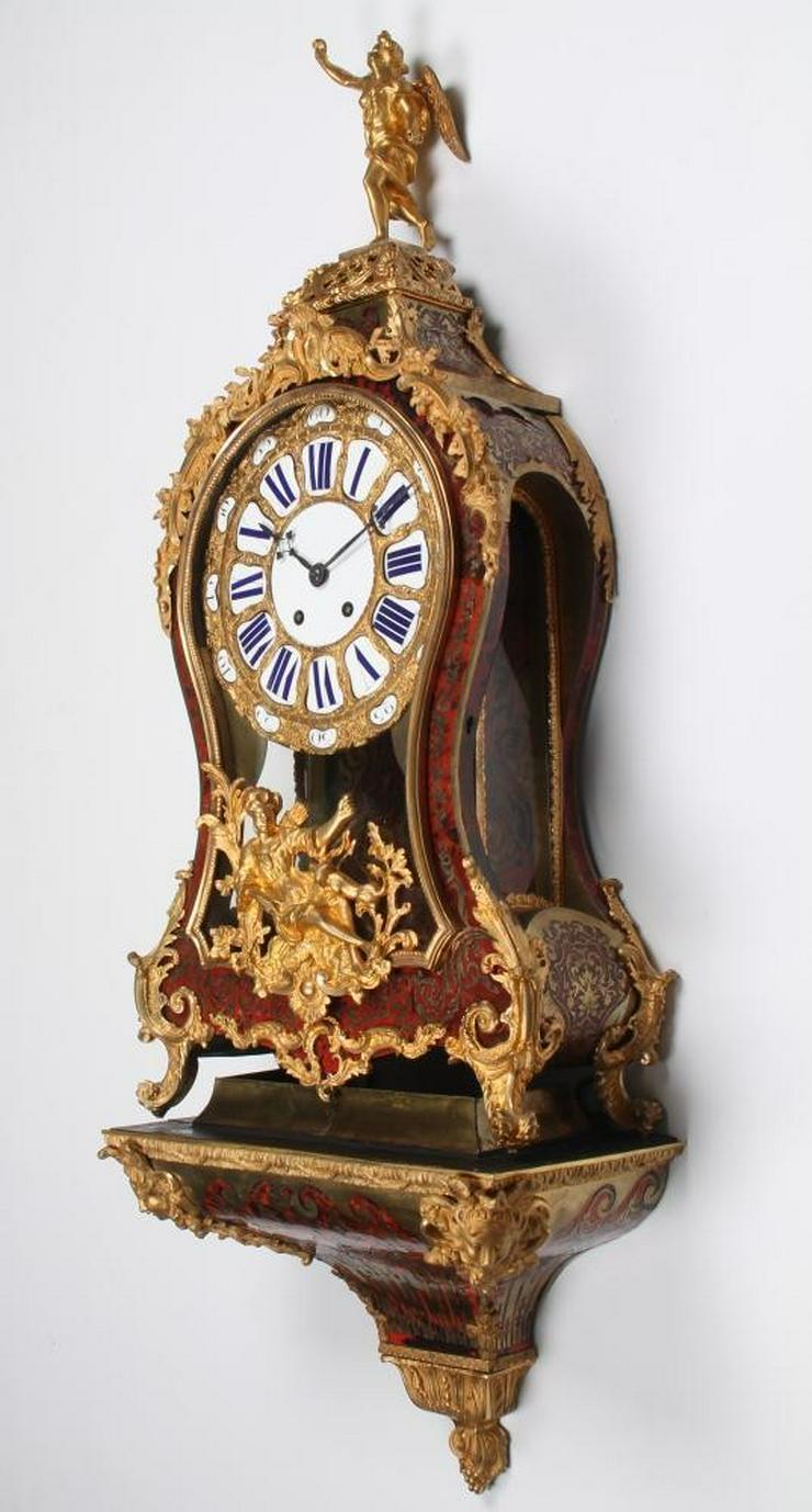 Bild 2: Jahrhundert riesige Boulle Uhr auf Sockel 114