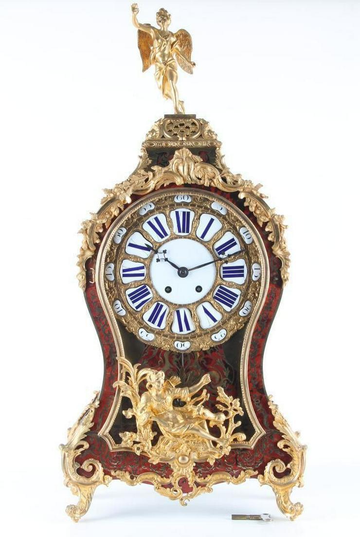 Bild 3: Jahrhundert riesige Boulle Uhr auf Sockel 114