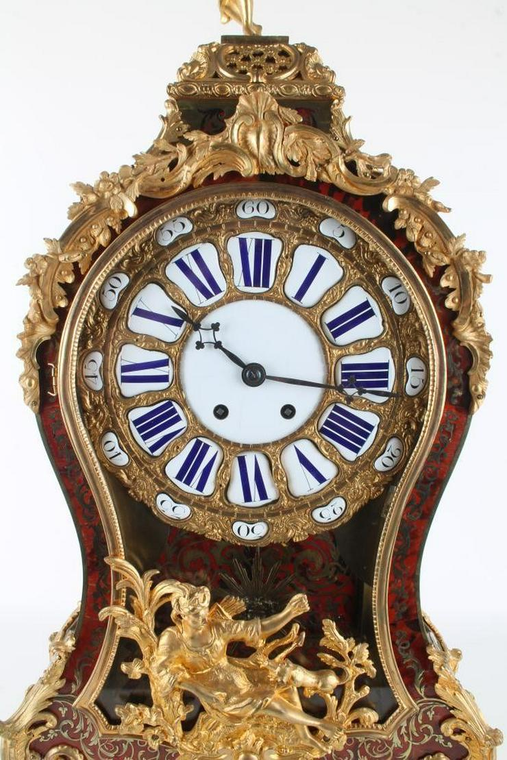 Bild 4: Jahrhundert riesige Boulle Uhr auf Sockel 114