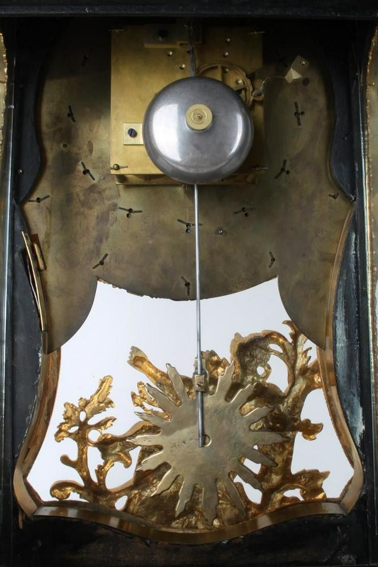 Bild 6: Jahrhundert riesige Boulle Uhr auf Sockel 114