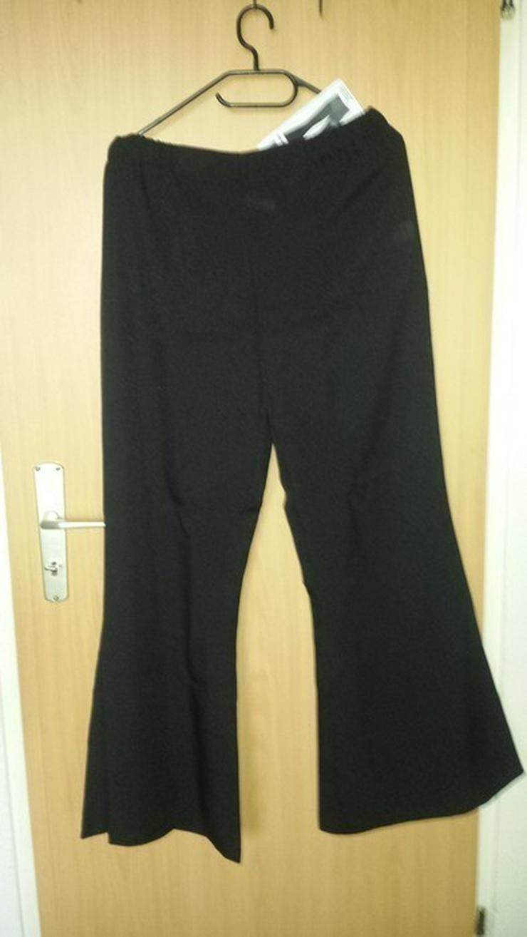 Bild 2: schwarze Hose Bootcut, Schlag fein,festlich