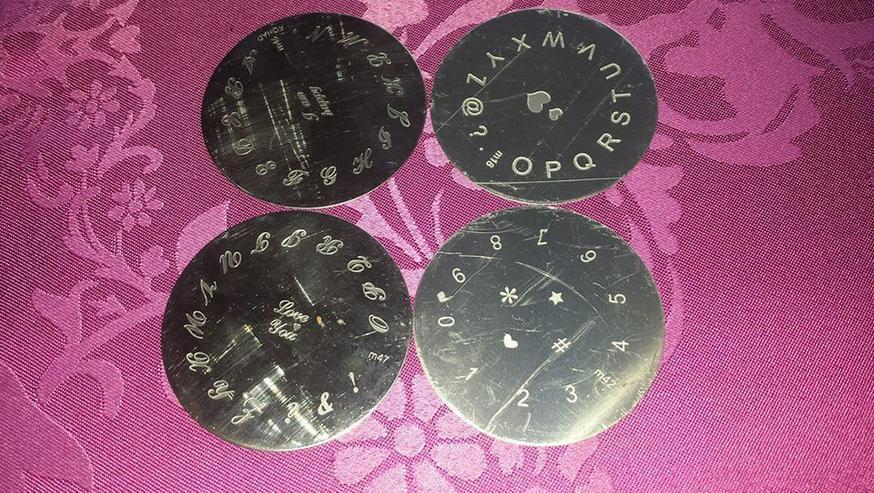 Bild 7: Samping/Stempelschablonen 70 Stück nailart