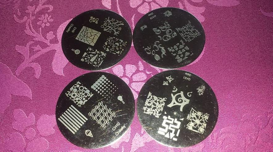 Bild 8: Samping/Stempelschablonen 70 Stück nailart